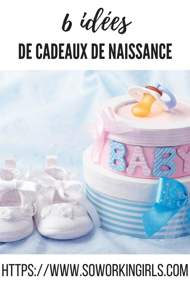 Quelques idées de cadeaux originaux de naissance à faire pour un bébé.