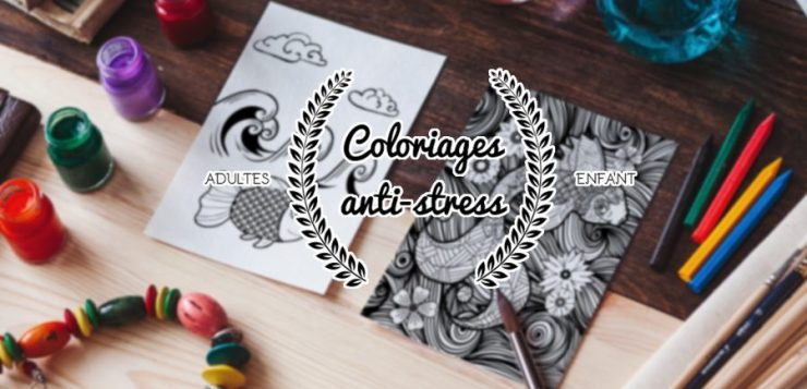 Coloriages antistress