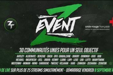 Le #ZEvent, un événement caritatif de gaming, en faveur des sinistrés de l'ouragan Irma