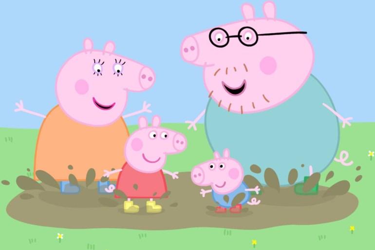 Peppa Pig et sa famille