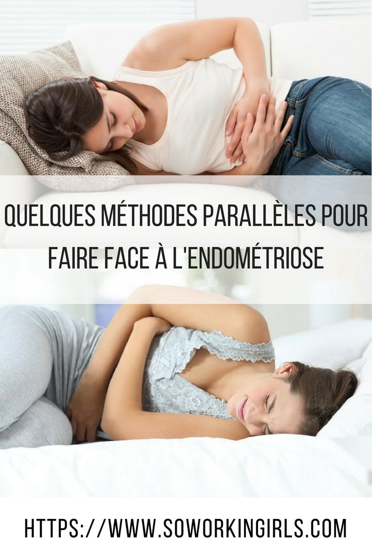 Les méthodes parallèles pour faire face à l'endométriose
