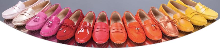 Mocassins de la marque Holidots, de toutes les couleurs