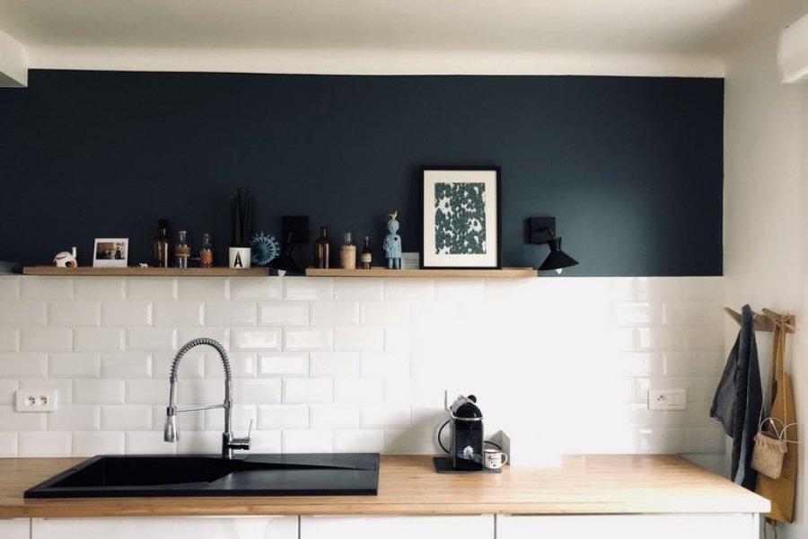 Nouvelle collection de cuisine de la marque Lapeyre, carrelage Métro