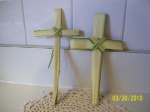 Palm Sunday crosses