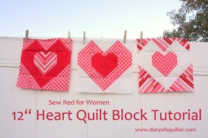 Heart quilt block tutorial-001