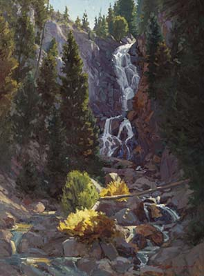 morning at the falls - beauregard