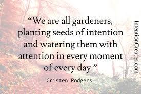 gardening saying