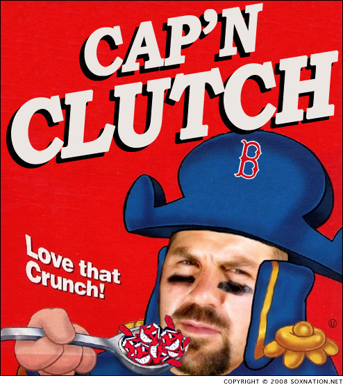 Jason Varitek is Cap'n Clutch