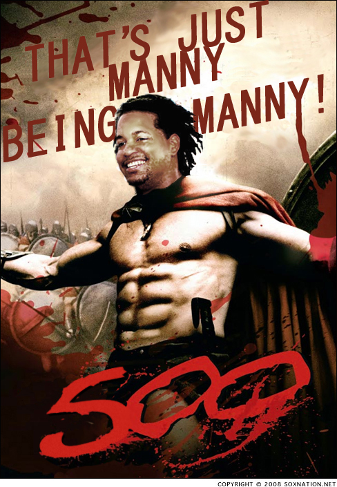 Manny Ramirez hit his 500th home run tonight