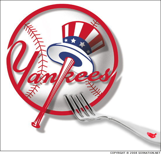 Stick a fork in the 2008 New York Yankees; they're done