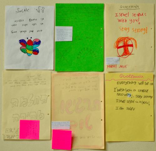 Algunos de los mensajes. (Foto: Gobierno)