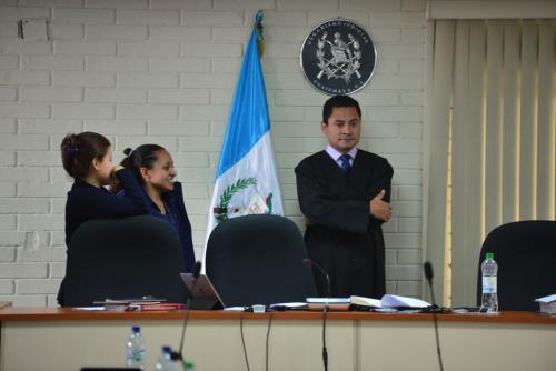 El juez Carlos Ruano detuvo la audiencia. (Foto: Jesús Alfonso/Soy502)