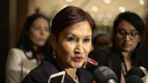 Thelma Aldana rendirá cuentas a diputados por la compra de edificio