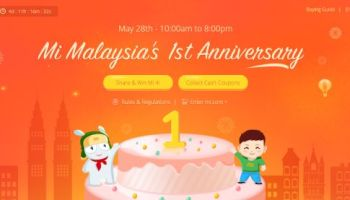 Big discounts with xiaomi malaysia's chinese new year sale