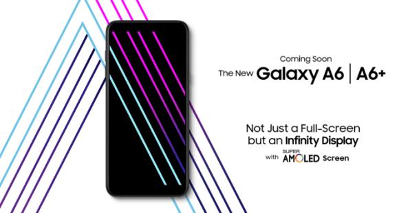 Samsung Galaxy A6 A6+ 2018