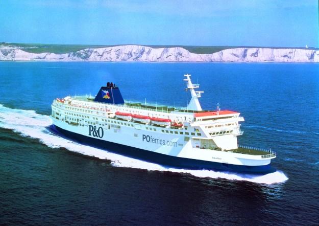 Ferri Pride of Dover de P&O Ferries