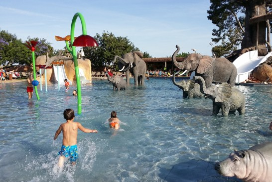 Campings con parques acuáticos y actividades
