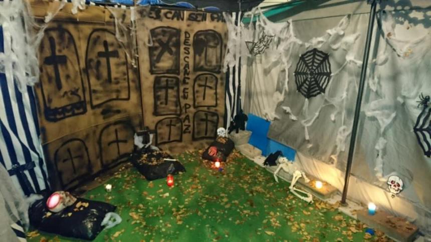 Halloween en Camping Cubillas, en Cubillas de Santa Marta (Valladolid)