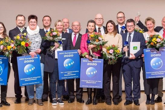Entrega de premios Deutscher Camping Club DCC