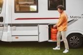 Tipos de bombonas de gas para la caravana o autocaravana
