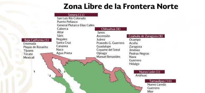 Cananea, Puerto Peñasco y Caborca fueron incluidos finalmente en la zona  libre fronteriza | Soy Cobre