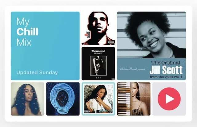 Apple Music chill out