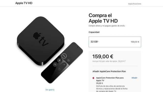 Apple televisión HD