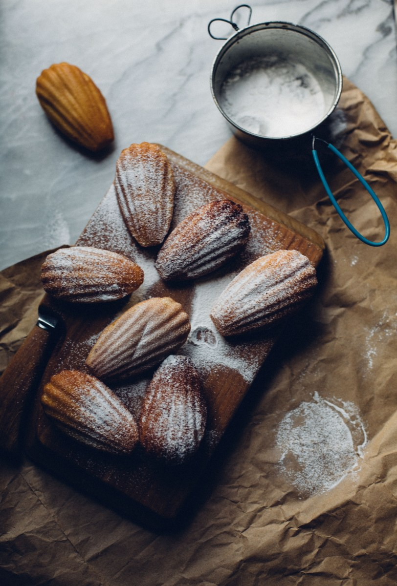 Orange Zest Madeleines