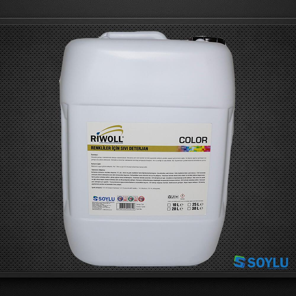 Riwoll Color Renkliler Icin Sivi Deterjan Soylu Kimya