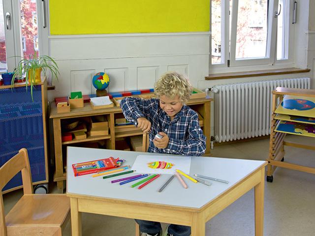 Coloured pencil Jumbo GRIP cardboard box of 12
