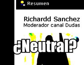 El Youtuber «neutral» Richardd ya es moderador de FZ