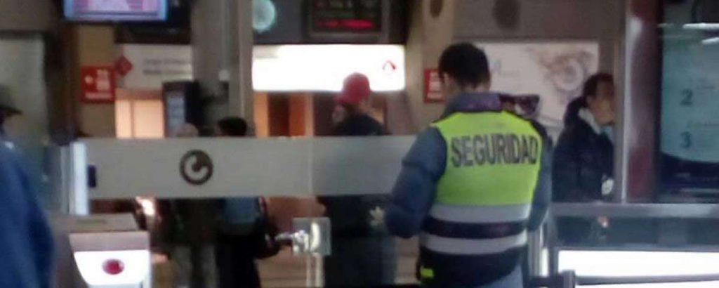 Vigilante de Seguridad en Renfe