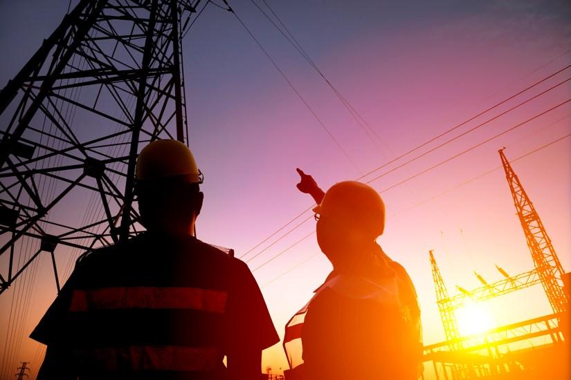 Seguridad en estación electrica