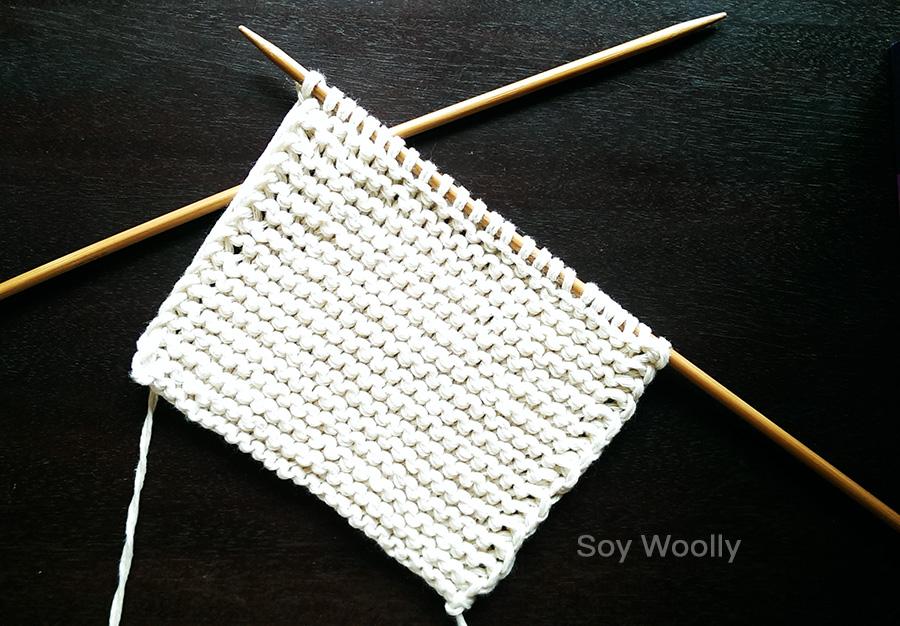 El patrón más fácil para tejer botitas, patucos, escarpines, zapaticos con dos agujas-Soy Woolly