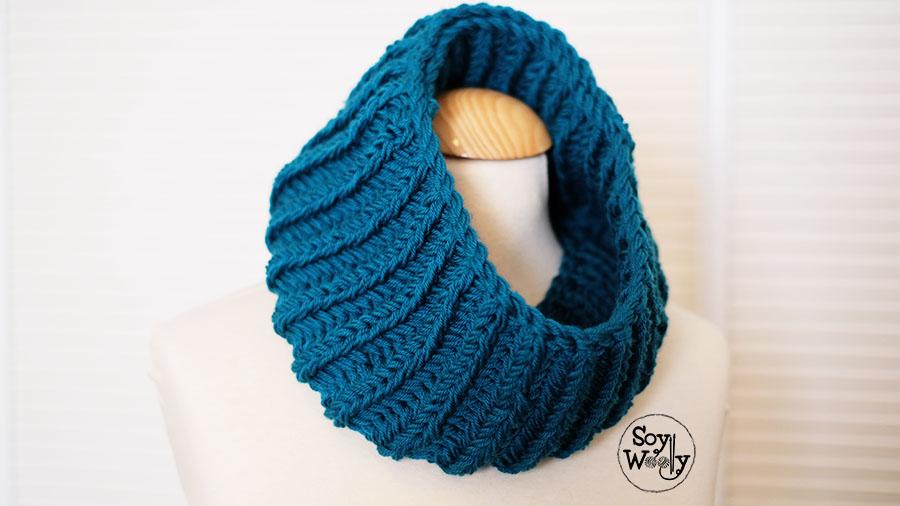 Cuello en punto ingles-Soy Woolly