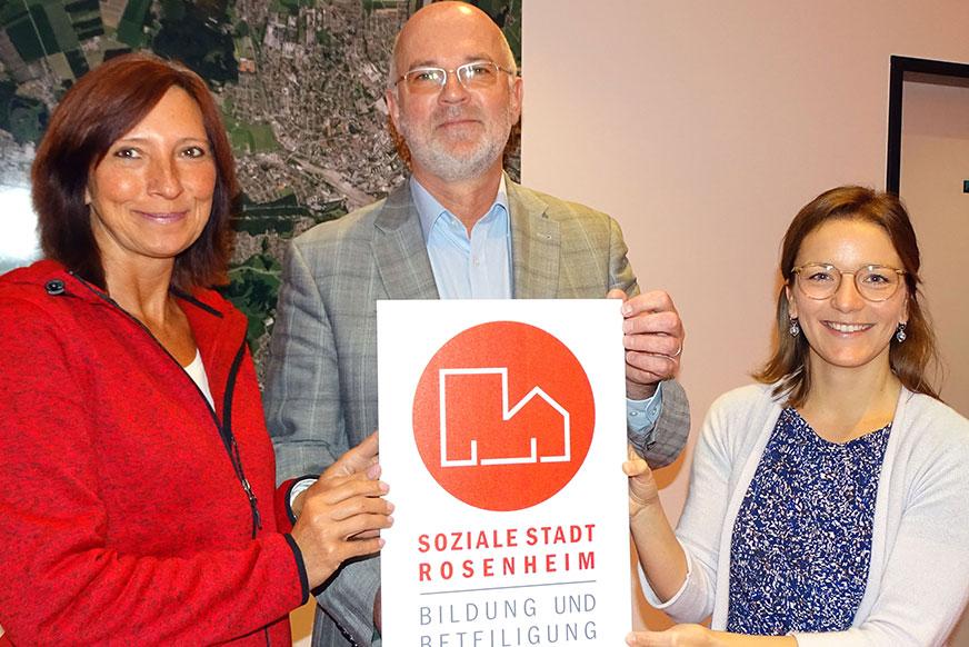 Team der Sozialen Stadt Rosenheim