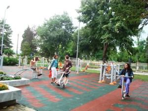 В Черноморец вече спортуват и на фитнес площадка 1