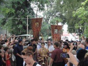 Хиляди съпроводиха мощите на Св. Йоан Кръстител в Созопол 1