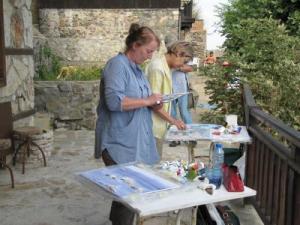 Немски художници рисуват Стария Созопол 2