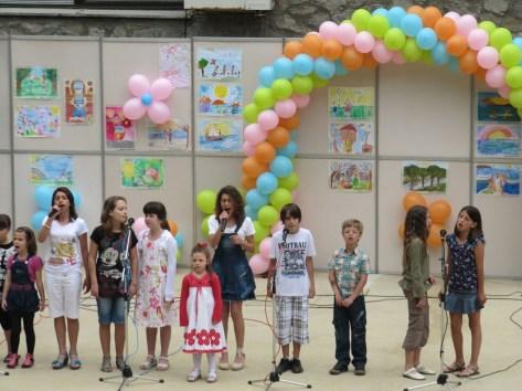"""Детски празничен концерт, организиран от читалище """"Отец Паисий"""""""