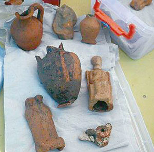 Откриха древен олтар в Созопол 10