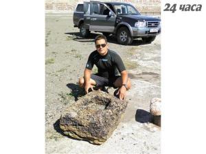 Откриха каменни котви край Созопол, създадени преди Троянската война 2