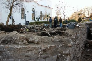 Оловен печат на Стефан Созополски открит в Созопол 9