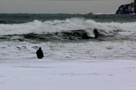 Плаж Хармани, Зимен Созопол 2012