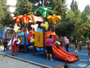 Созопол откри нова детска площадка 2