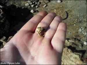 Археолозите в Созопол окриха златна обеца