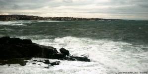 Снимка на Созопол от Райския залив