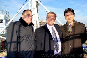 Корейският посланик празнува Никундел в Созопол
