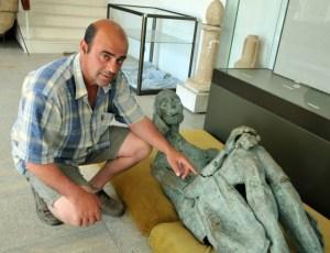 Директорът на археологическия музей в Созопол - Димитър Недев
