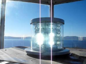 ЛЕД осветление на главата на фара на остров Свети Иван край Созопол